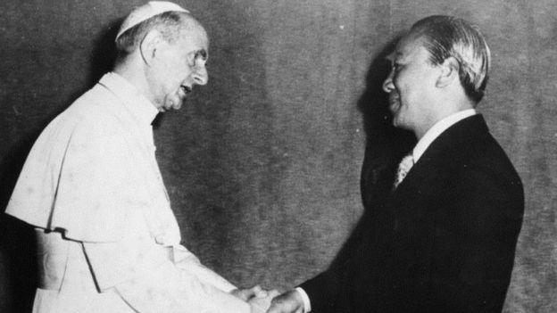 Giáo hoàng Paul VI và Tổng thống Nguyễn Văn Thiệu
