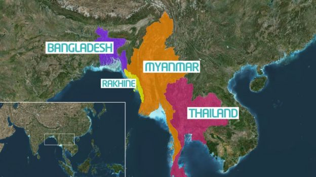 What Is Happening In Myanmar CBBC Newsround - Myanmar map