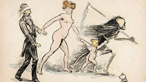 Litografía de 1900 aprox.