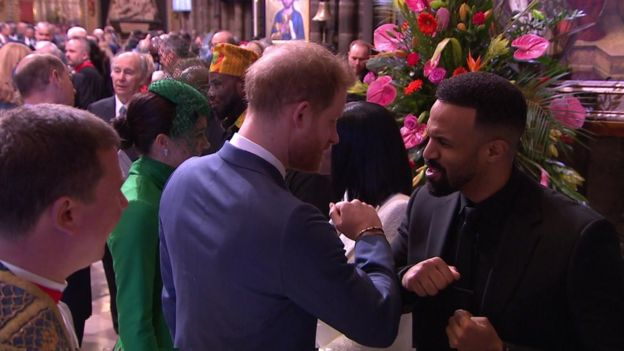 Prince Harry and Craig David