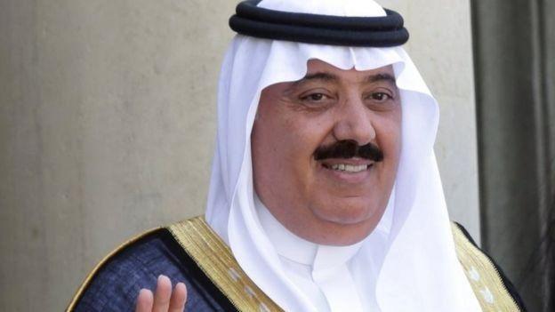 เจ้าชายมีเต็บ บิน อับดุลลาห์ ถูกปลดออกจากตำแหน่งรัฐมนตรีผู้รับผิดชอบกองกำลังรักษาความปลอดภัยแห่งชาติ