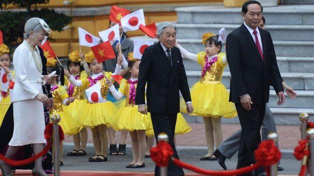 Nhà vua Nhật Bản Akihito và Hoàng hậu thăm cấp Nhà nước lần đầu tiên tới Việt Nam từ ngày 28/2 - 5/3/2017