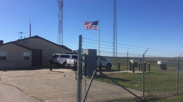 База Минот, где размещены американские межконтинентальные баллистические ракеты
