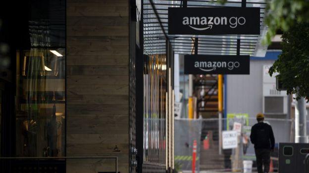 Local de Amazon Go en Seattle, Washington