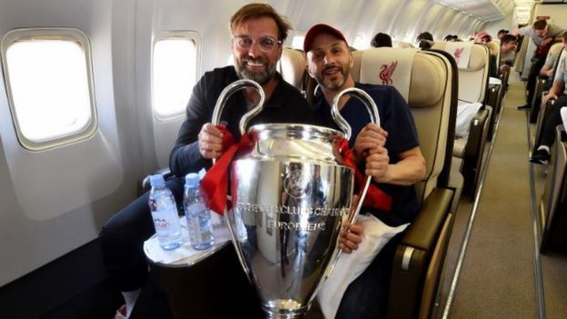 Jurgen Klopp and Mike Gordon