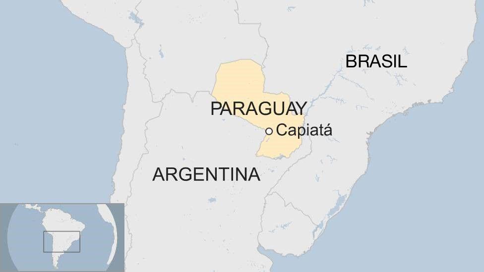 Mapa Capiatá