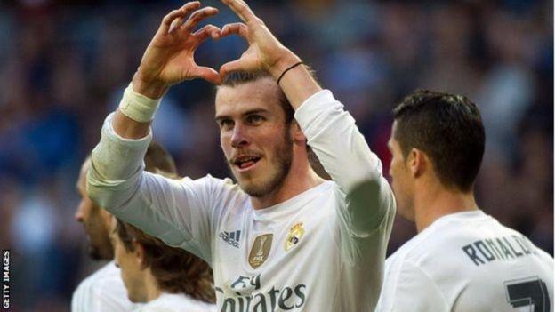 Mshambuliaji wa Wales na Real Madrid Gareth Bale