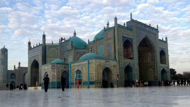 روضه منسوب به حضرت علی در بلخ