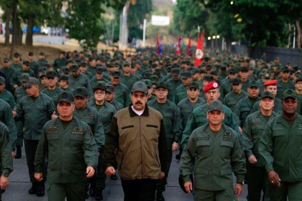 Maduro ve ordu