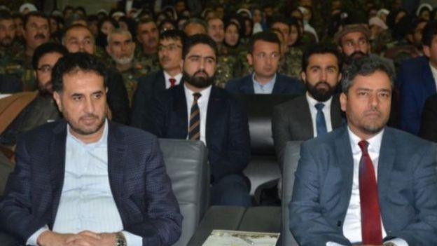 آقای ضیا معاون وزارت دفاع افغانستان بود