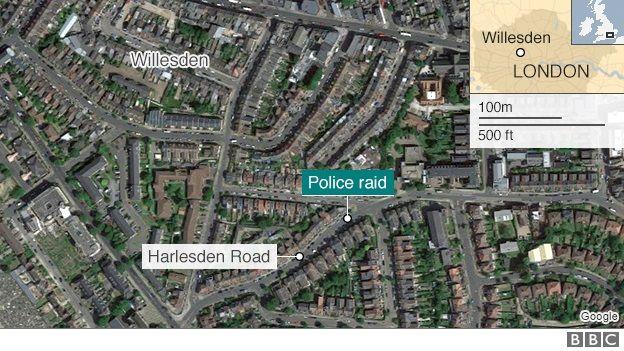 Willesden map