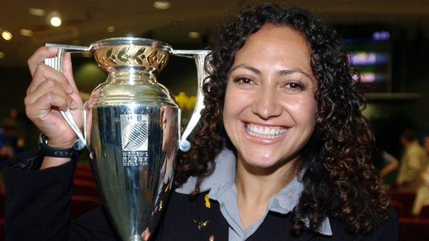 2002 Womens Rugby World Cup winning team member Melodie Robinson