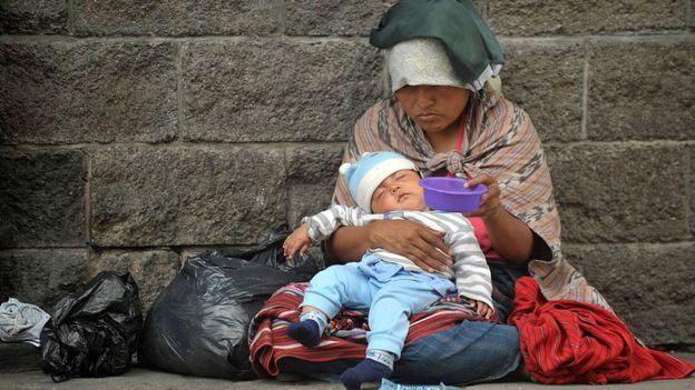Pobreza en Guatemala.
