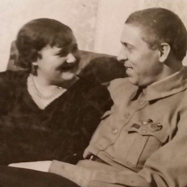 Galina and Alexei Stakhanov