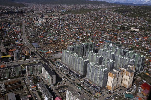 Capital de Mongolia