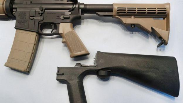 Armas modificadas.