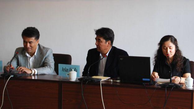 Tashpolat Tiyip, Arslan Abdulla, Rahile Dawut