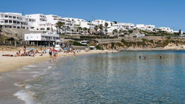 Греция, пляж