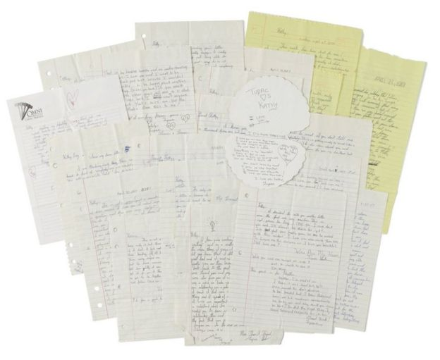 Tupac love letters