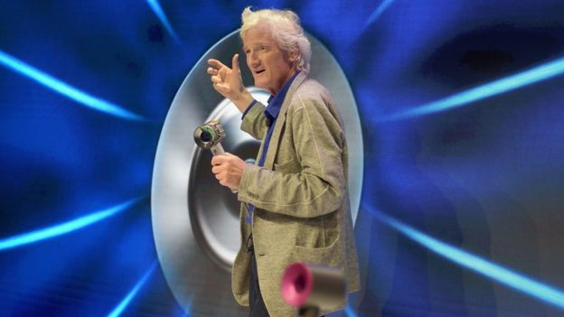 Dyson founder and chief engineer Sir James Dyson speaks onstage during the Dyson Supersonic Hair Dryer launch event at Center548 on September 14, 2016 in New York City.