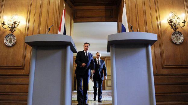 Кэмерон, Путин