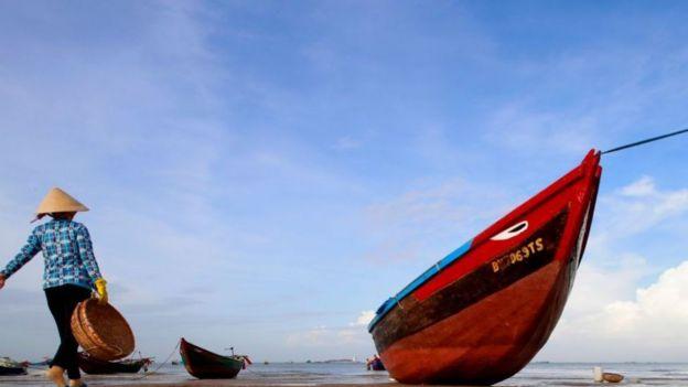 Ngư dân Việt Nam – hình minh họa