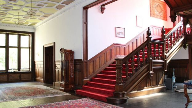 Лестница Orchardton Castle