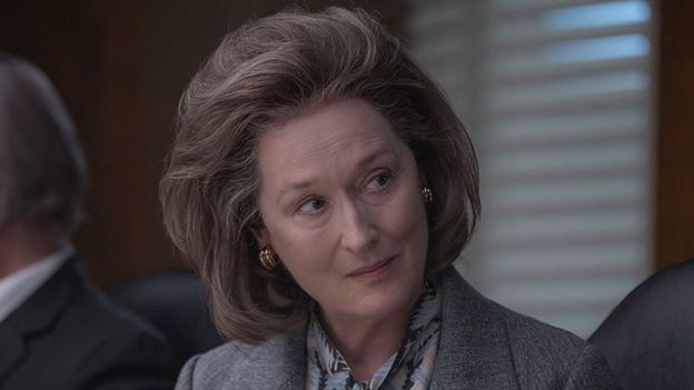 "Meryl Streep in ""The Dark Secrets of the Pentagon"" (Photo: IMDB)"