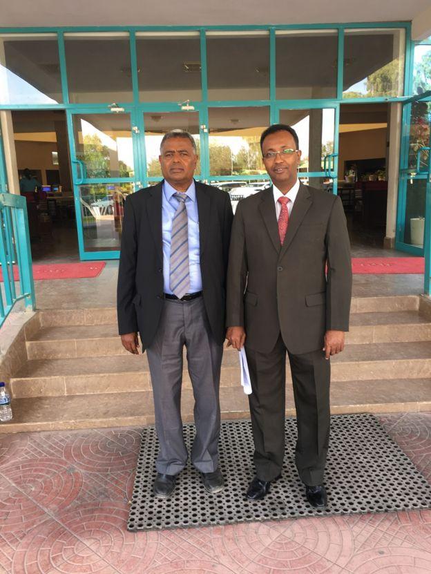 Axmed Siciid Cige iyo Faarax Lamaane oo isu diyaarinaya doodda murashaxiinta madaxweynenimada Somaliland, Hargaysa 9 Nofembar, 2017