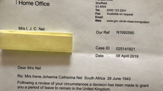 Sick South African woman's deportation threat dropped - BBC News