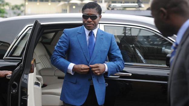 El hijo del presidente de Guinea Ecuatorial, Teodorin Obiang