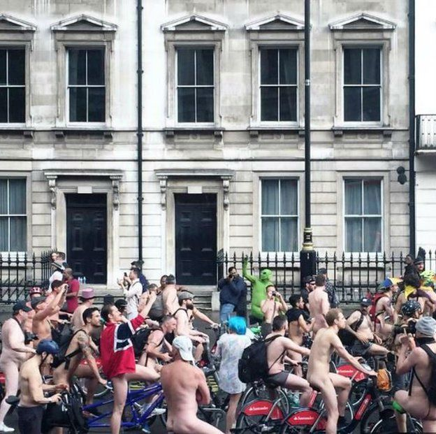 London nudist events