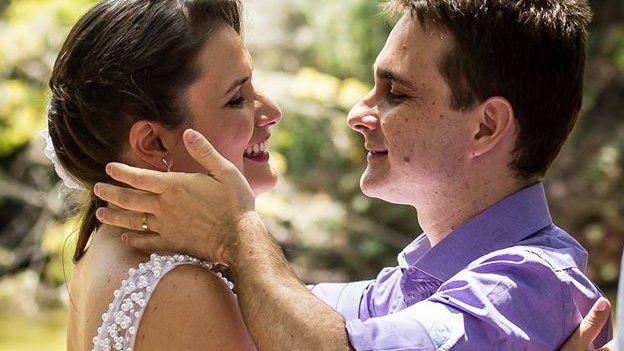 Wedding photo of Emilia Ribeiro and Rodrigo Bornholdt