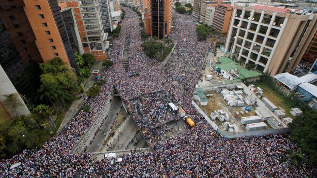 La movilización no se movilizaba de una forma tan masiva desde la la de protestas antigubernamentales de 2017.