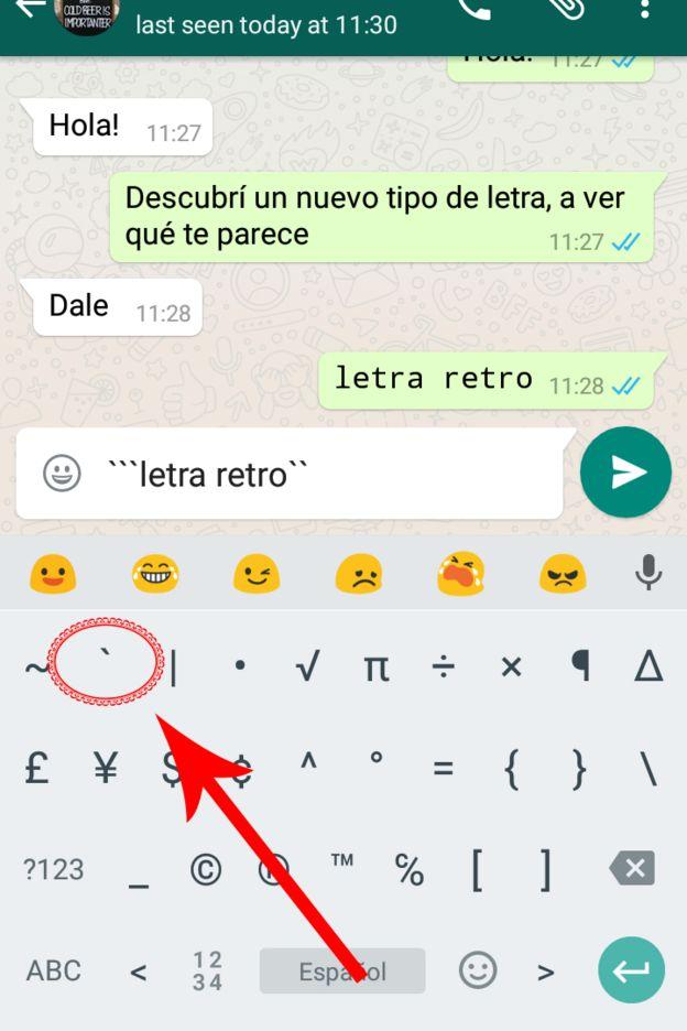 Cómo Usar El Nuevo Tipo De Letra Secreto De Whatsapp Bbc News Mundo