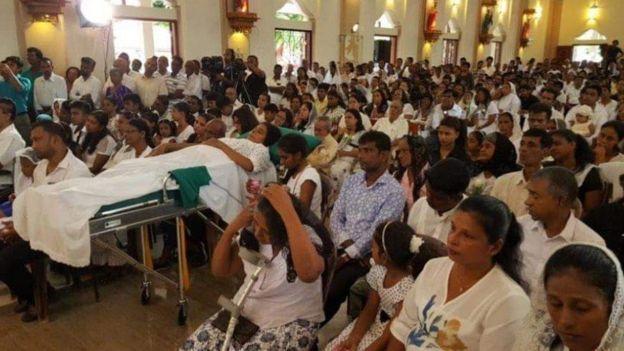 இலங்கை : பயங்கரவாதத் தாக்குதலுக்கு மூன்று மாதங்கள் - செபஸ்டியன் தேவாலயம் திறந்து வைப்பு