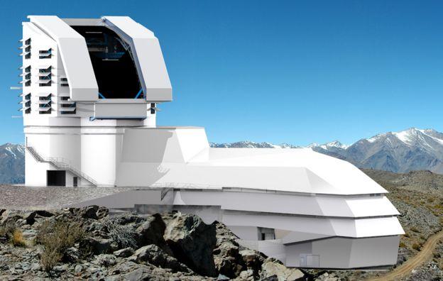 Ilustración del LSST (Foto: LSST)