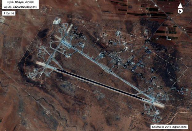 叙利亚霍姆斯附近的謝拉特空軍基地