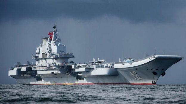 中國第一艘航母遼寧號
