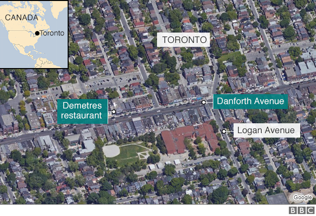 カナダ・トロントで発砲、死傷者...