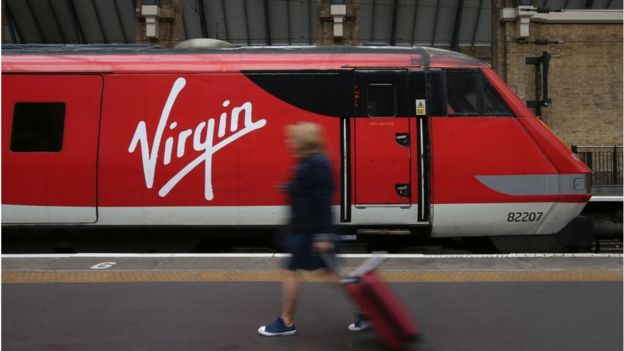 A Virgin Train