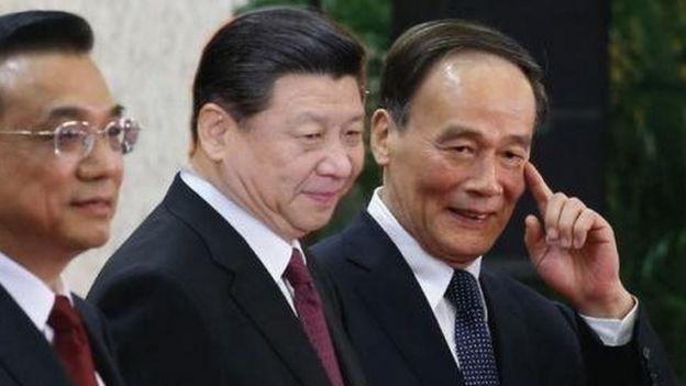 中共最高层领导人