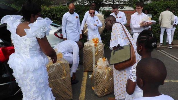 Boda tradicional de Gana