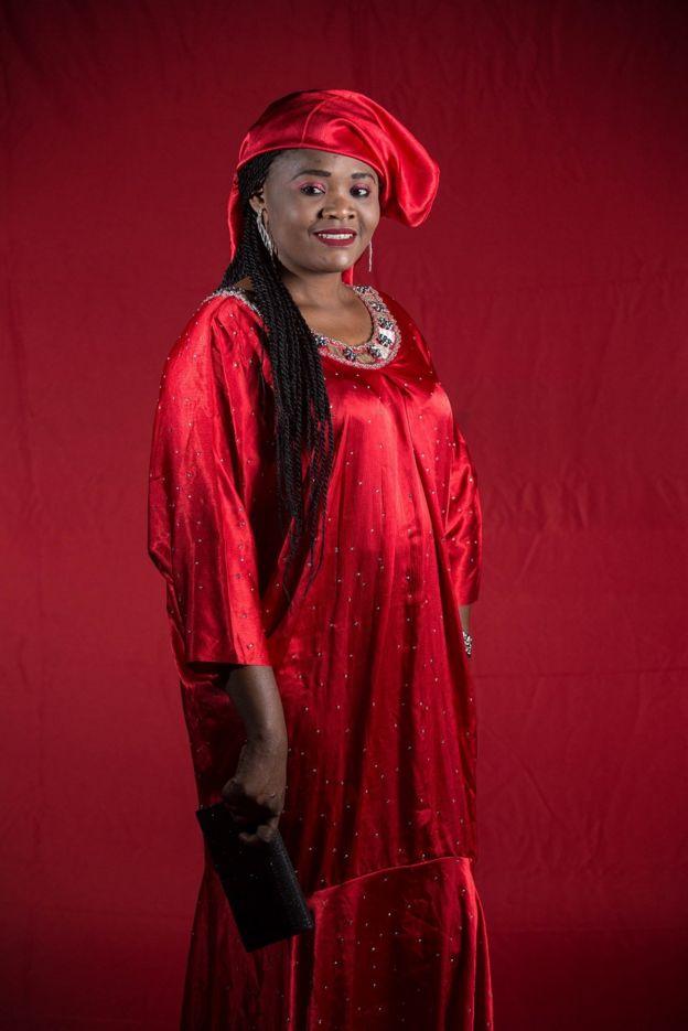 mulher senegalesa
