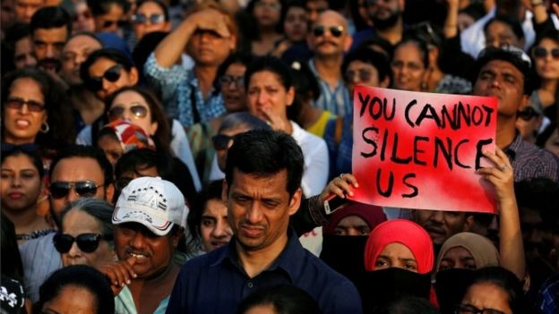Why India's rape crisis shows no signs of abating - BBC News