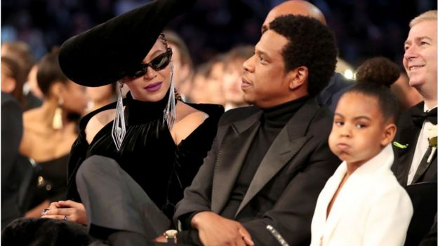 Beyonce, Jay-Z and daughter Blue Ivy