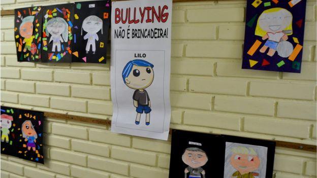 Campanha contra bullying em Curitiba, em foto de arquivo