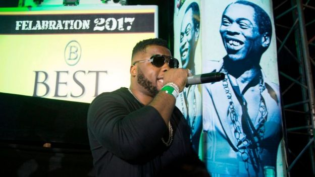 Fela Kuti: Di musician wey goment fight yesterday, dey