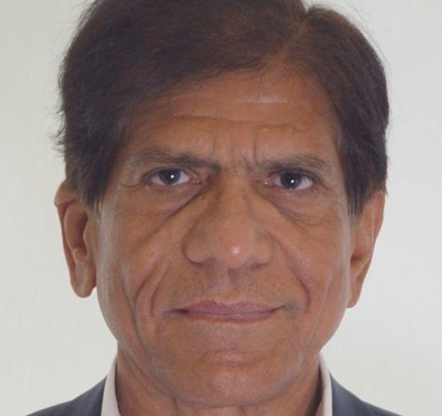 El profesor Hasan Arshad