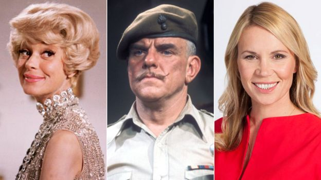 Carol Channing, Windsor Davies and Dianne Oxberry